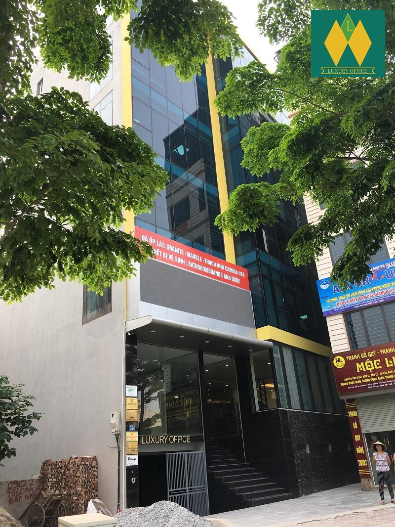 Cho thuê văn phòng trên đường Võ Chí Công