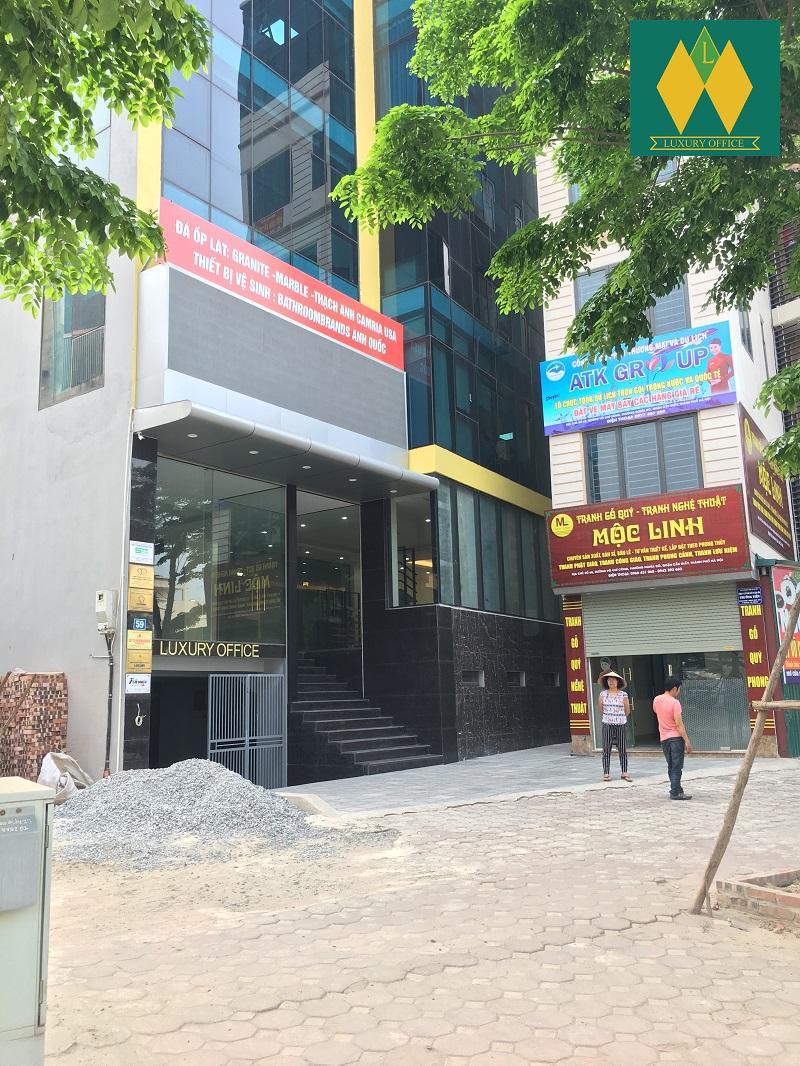 Mặt tiền tòa nhà