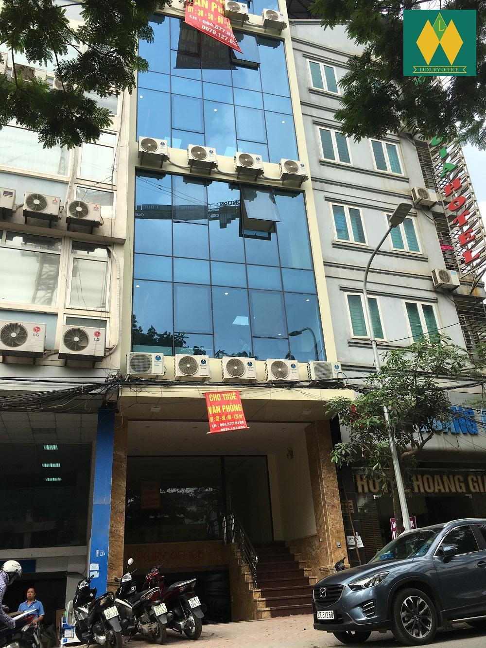 Cho thuê văn phòng trên đường Trần Thái Tông
