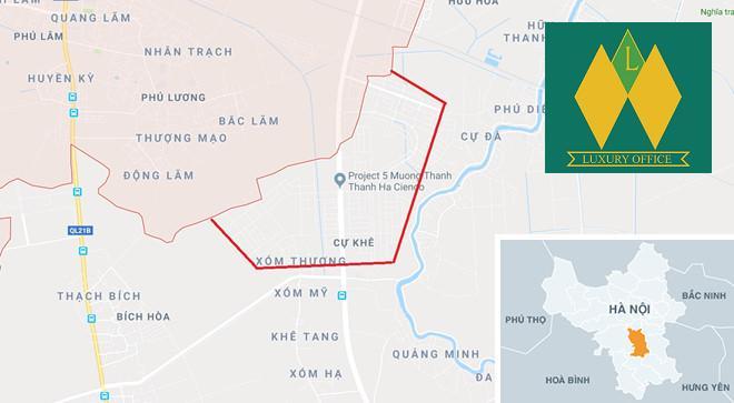 Hà Nội: Chuyển Khu đô thị Thanh Hà về quận Hà Đông