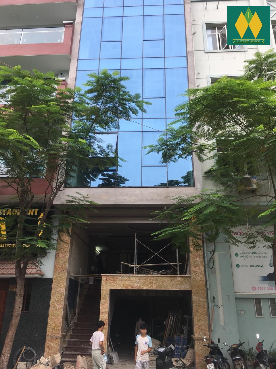 Cho thuê văn phòng tại số 223 mặt phố Quan Hoa – Cầu Giấy